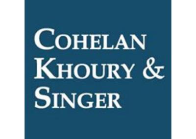 Cohelan Khoury & Singer